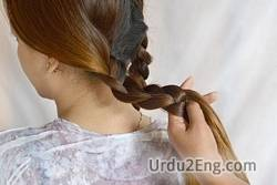 hairstyle Urdu Meaning