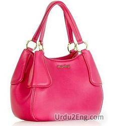 handbag Urdu Meaning