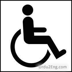 handicap Urdu Meaning
