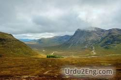 highland Urdu Meaning