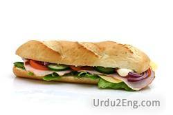 hoagie Urdu Meaning