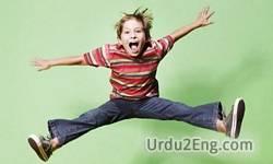 jumping Urdu Meaning