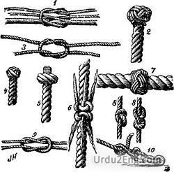 knot Urdu Meaning