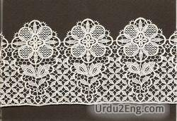 lace Urdu Meaning