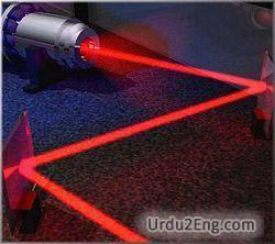 laser Urdu Meaning
