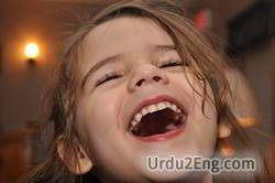laugh Urdu Meaning