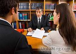 lawyer Urdu Meaning