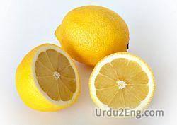 lemon Urdu Meaning