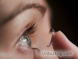 lens Urdu Meaning