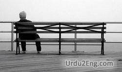 loneliness Urdu Meaning