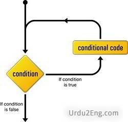 loop Urdu Meaning