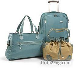 luggage Urdu Meaning