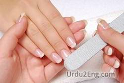 manicure Urdu Meaning