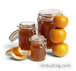 marmalade Urdu Meaning