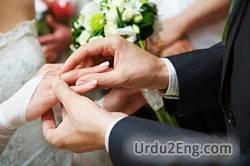 marry Urdu Meaning