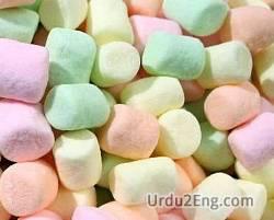 marshmallow Urdu Meaning