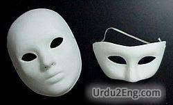 mask Urdu Meaning