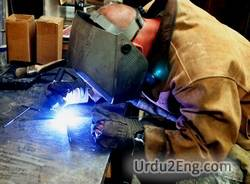 metalworker Urdu Meaning