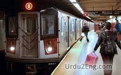 metro Urdu Meaning