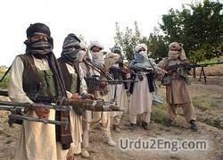 militant Urdu Meaning