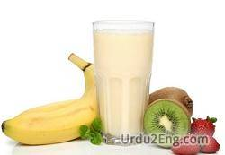 milkshake Urdu Meaning