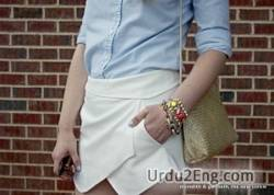 miniskirt Urdu Meaning