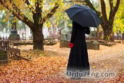 mourner Urdu Meaning
