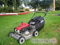 mower Urdu Meaning