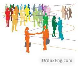 network Urdu Meaning