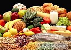 nutrition Urdu Meaning