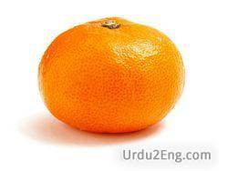 orange Urdu Meaning