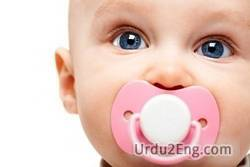 pacifier Urdu Meaning