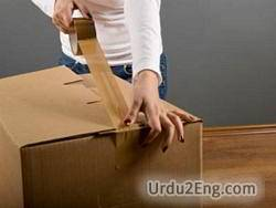 packing Urdu Meaning