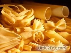 pasta Urdu Meaning