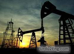 petroleum Urdu Meaning