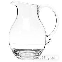 pitcher Urdu Meaning