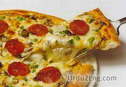 pizza Urdu Meaning