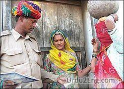 postman Urdu Meaning