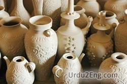 pottery Urdu Meaning