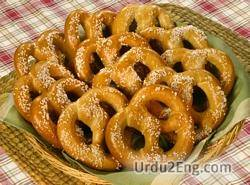 pretzel Urdu Meaning