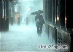 rain Urdu Meaning