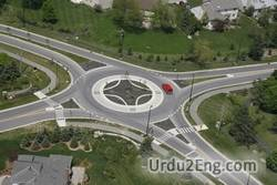 roundabout Urdu Meaning
