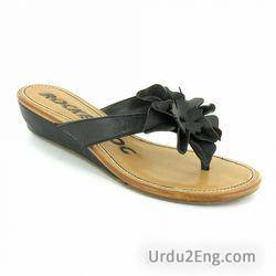 sandal Urdu Meaning