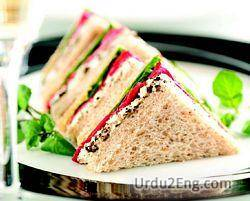 sandwich Urdu Meaning