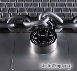 security Urdu Meaning