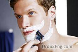 shave Urdu Meaning