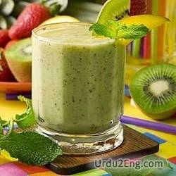 smoothie Urdu Meaning