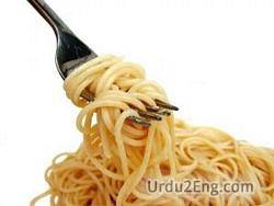 spaghetti Urdu Meaning