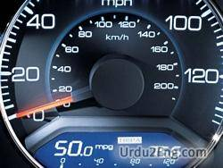 speedometer Urdu Meaning