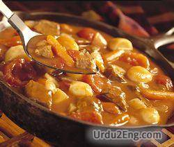 stew Urdu Meaning